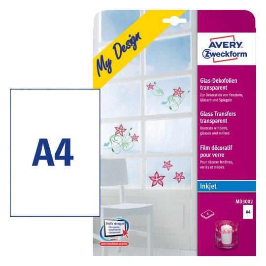 AVERY-Zweckform-Glasfolie-A4-0