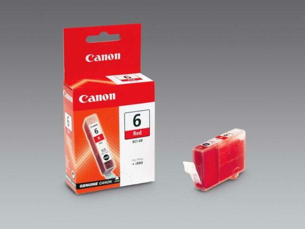 BCI-6R-Canon-Tintenpatrone-red-0