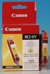 BCI-6Y-Canon-Ersatzpatrone-yellow-0