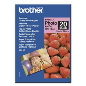 Brother-Fotopapier-Glossy-BP61-GLP-0