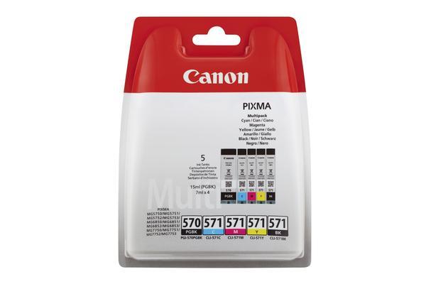 CANON-PGCL5701-Multipack-Tinte-PGBKCMYBK-0