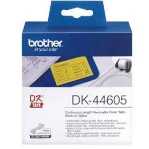 DK-44605-P-Touch-Endlos-Etiketten-gelb-0
