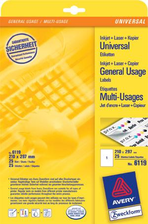 Etikette-210x297mm-Universal-0