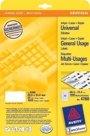 Etikette-48-5x25-4mm-Universal-A4-0