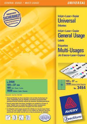 Etiketten-105x37mm-gruen-0