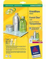 Kristallklare-Etiketten-25Blatt-525-Eti-0