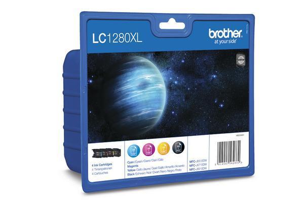 LC-1280VA-BROTHER-Valuepack-Tinte-HY-CMYBK-0