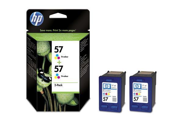 No-57-HP-Tintenpatronen--2x-color-0