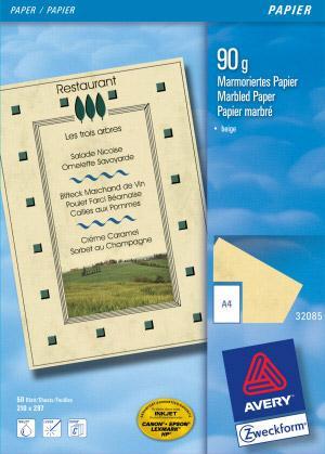 Papier-A4-marmoriert-90g-beige-50Bl-0