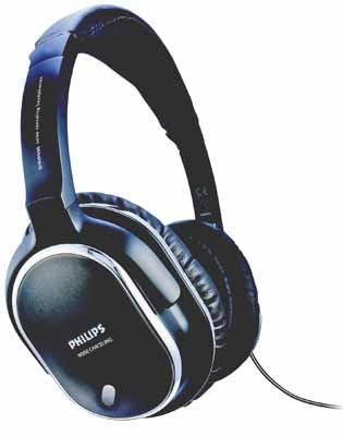 Philips-SHN-950000-Schwarz-Silber-0