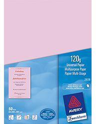 Roserotes-Papier-120g-50-Blatt-0