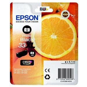 T336140-Epson-Tintenpatrone-33XL-PhBk-0