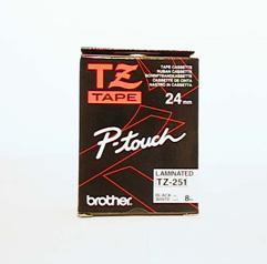 TZ-251-P-Touch-Band-laminiert-schwweiss-0