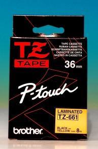 TZ-661-Ptouch-Band-laminiert-gelbschw-0