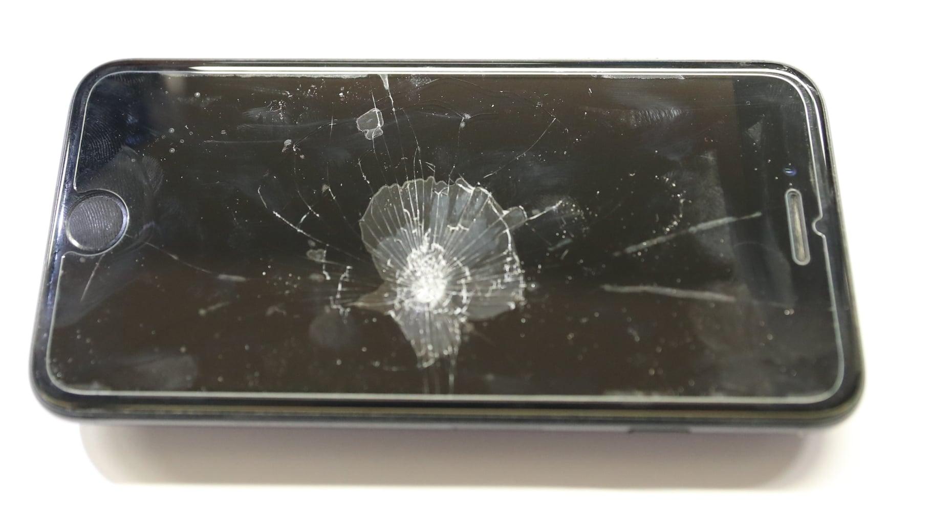 defekter handybildschirm reparatur